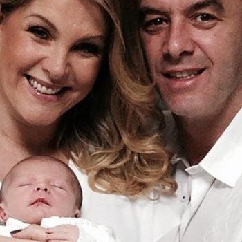 Bebê da apresentadora Ana Hickmann