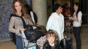 Ticiane Pinheiro e Rafa Justus partem para viagem aos EUA com um Zapp na bagagem