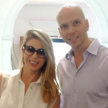 Sheila Mello e Fernando Scherer visitam a BBtrends Baby Boutique