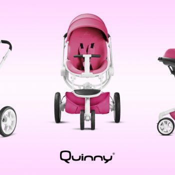 Carrinho Moodd Pink Passion | BBtrends Baby Boutique